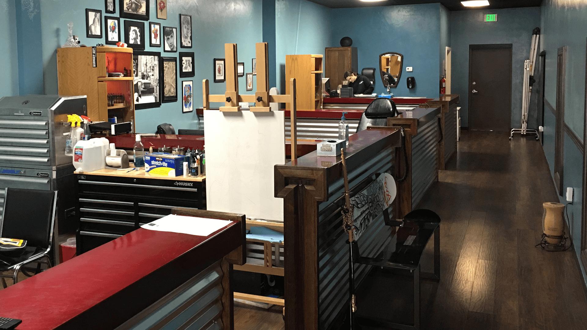 Alpha Omega Tattoo | St George tattoo shop | St George Utah 84770